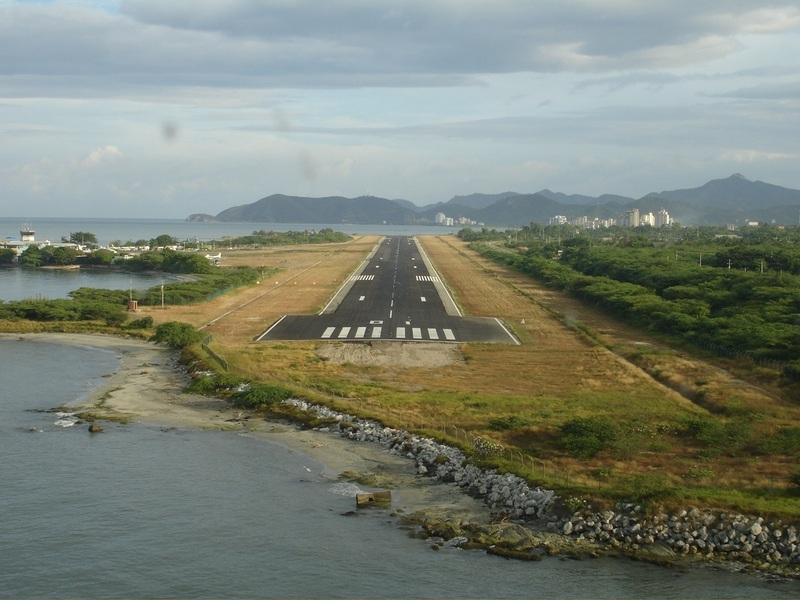 pista aeropuerto santa marta