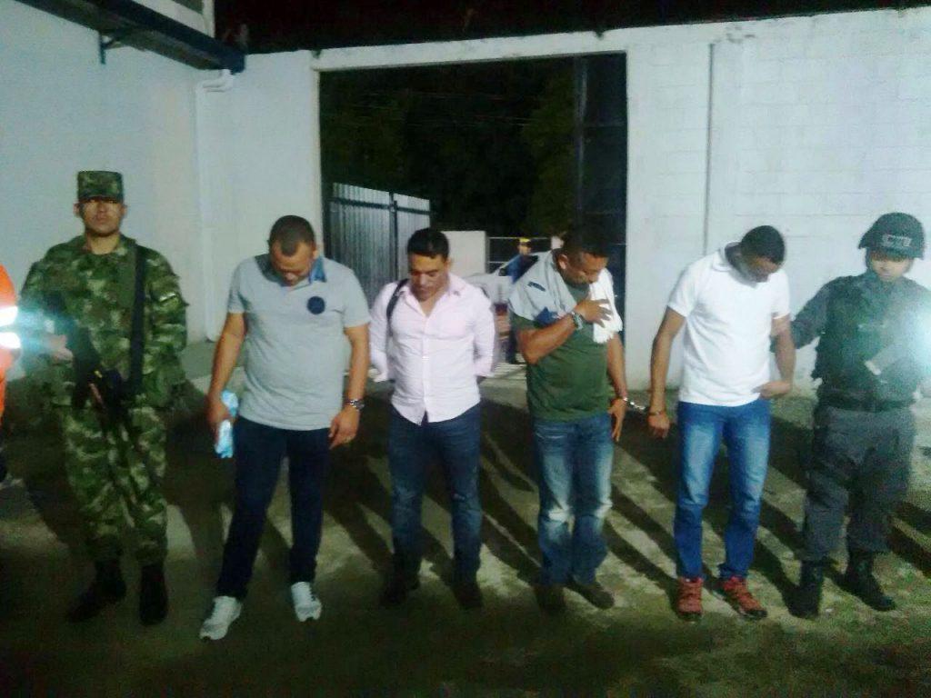 capturados santa marta coca