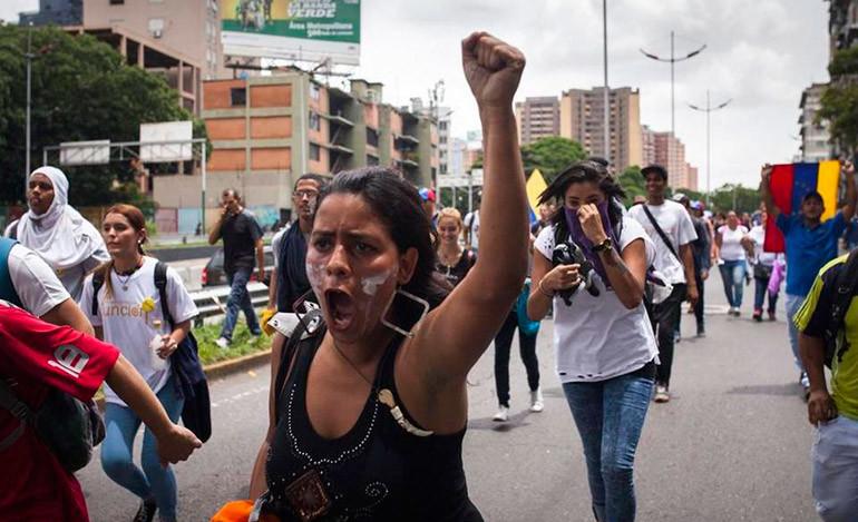 protesta venezuela 1.1