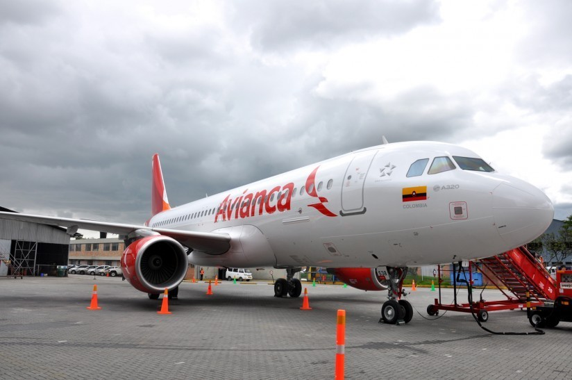 avion avianca cali