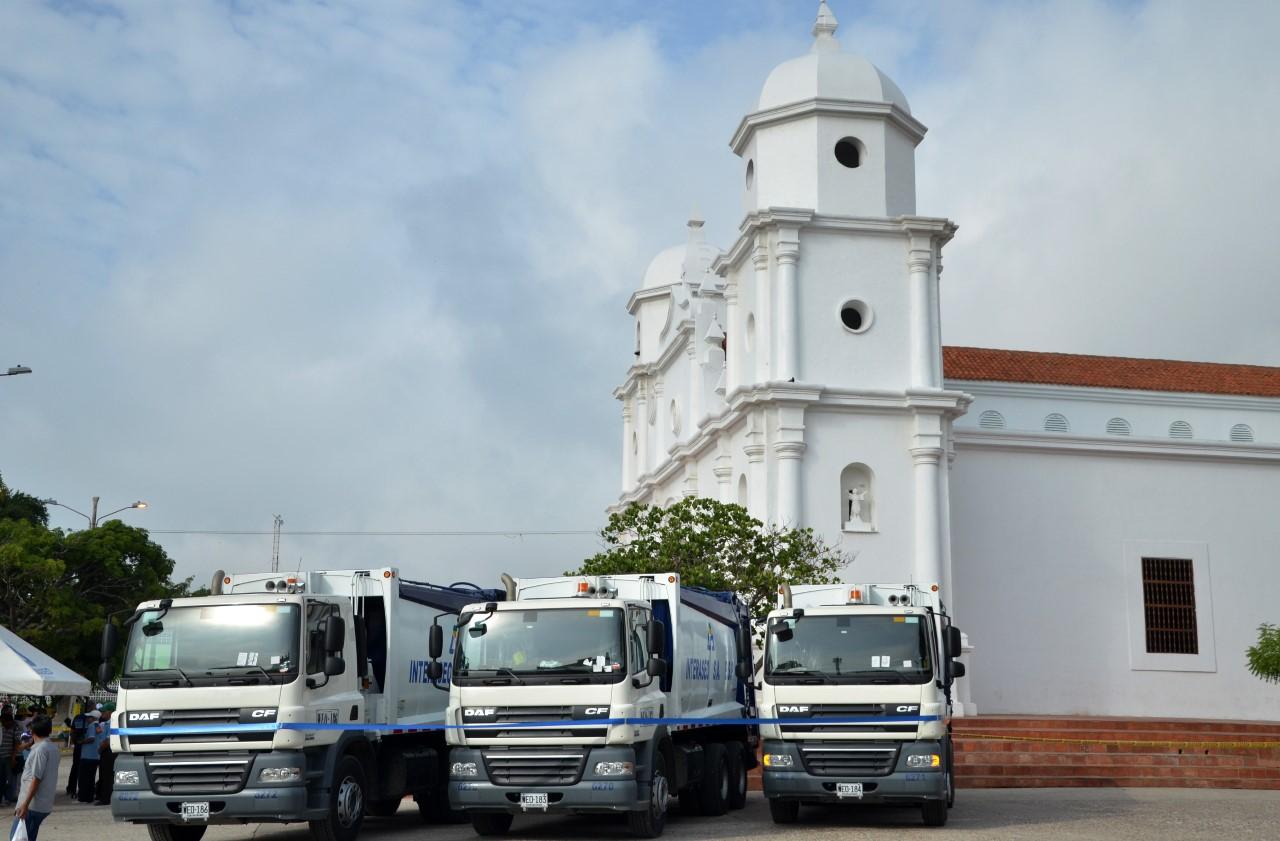 camiones aseo soledad
