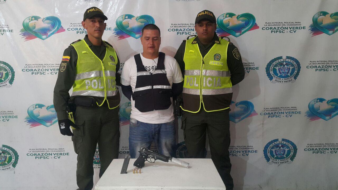 capturado pistola silenciador