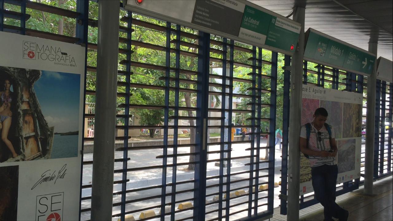 estacion transmetro cierre