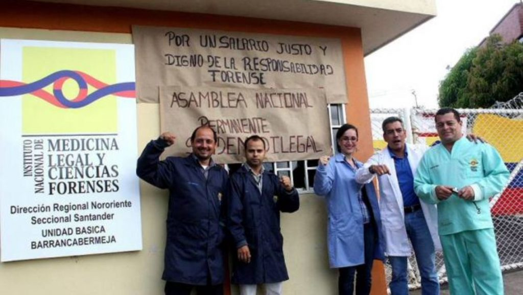 medicina legal protesta 1