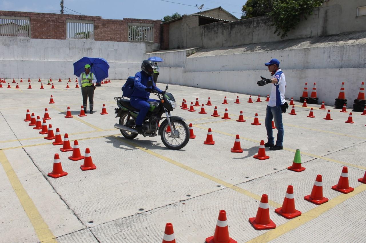motociclista capacitacion