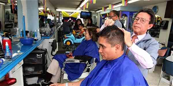 peluqueros