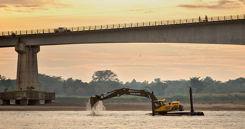 rio magdalena trabajos