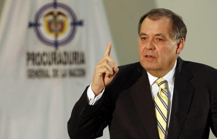 El Procurador General de la Nación, Alejandro Ordóñez, fue ternado nuevamente por la Corte Suprema de Justicia, para aspirar a un nuevo periodo como jefe del ministerio público (Colprensa)