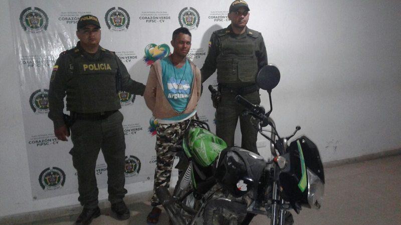 ladron de moto