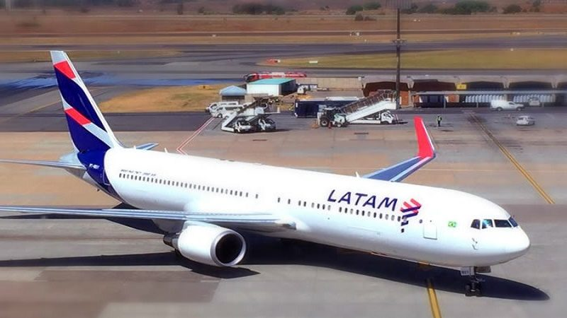 latam avion bomba