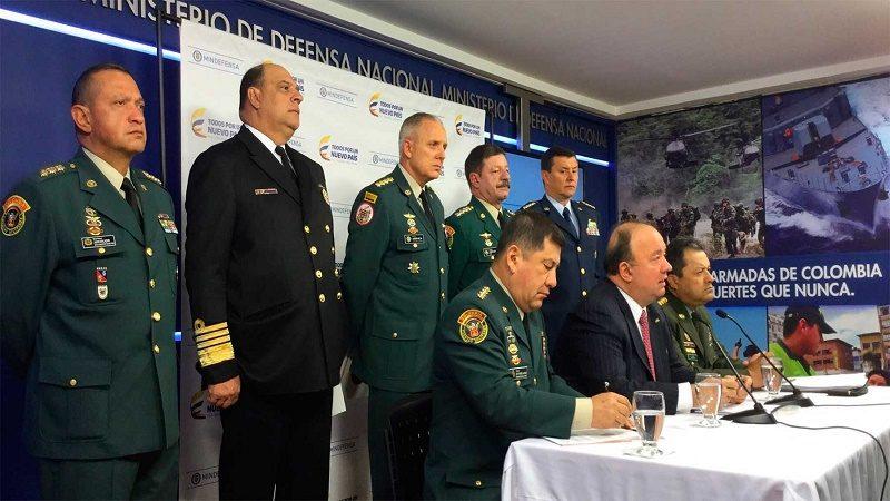 Cúpula de Fuerzas Armadas manifestó al Presidente su apoyo a la Justicia Especial para la Paz