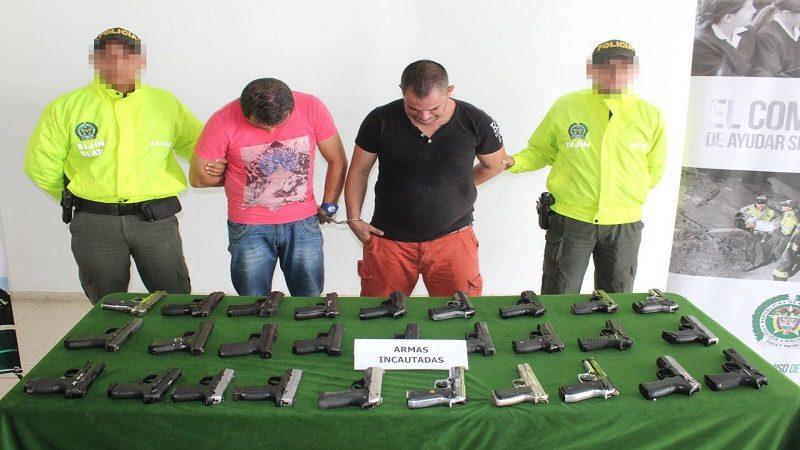 pistolas 9 mm