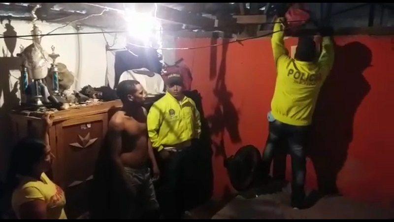 redada policia