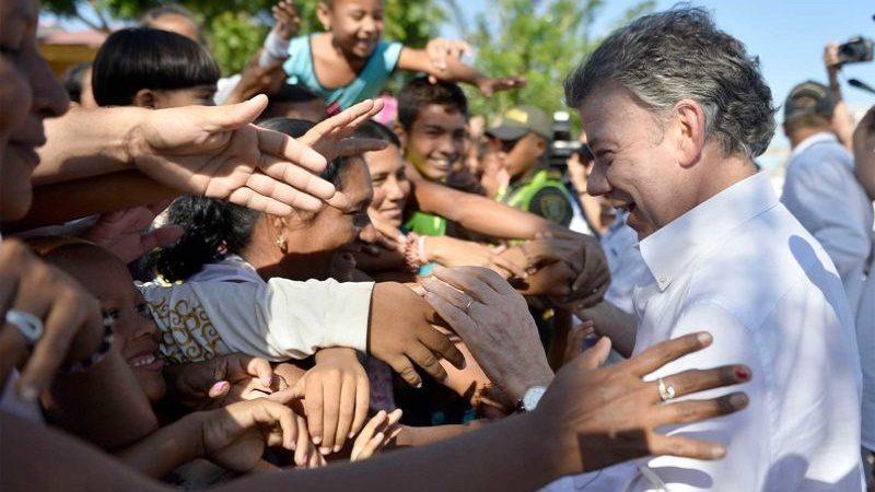 Gracias Barranquilla y gracias por todo el apoyo que nos han dado, dijo este viernes el Presidente en Barranquilla, donde entraron en operación cámaras en el marco del programa 'Vive Seguro, Vive en Paz'.