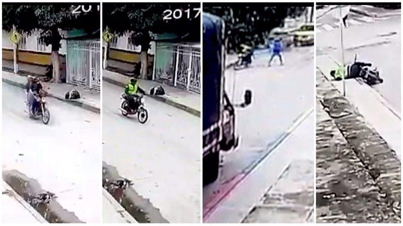 Así mataron al auxiliar de Policía en el barrio San Luis de Barranquilla