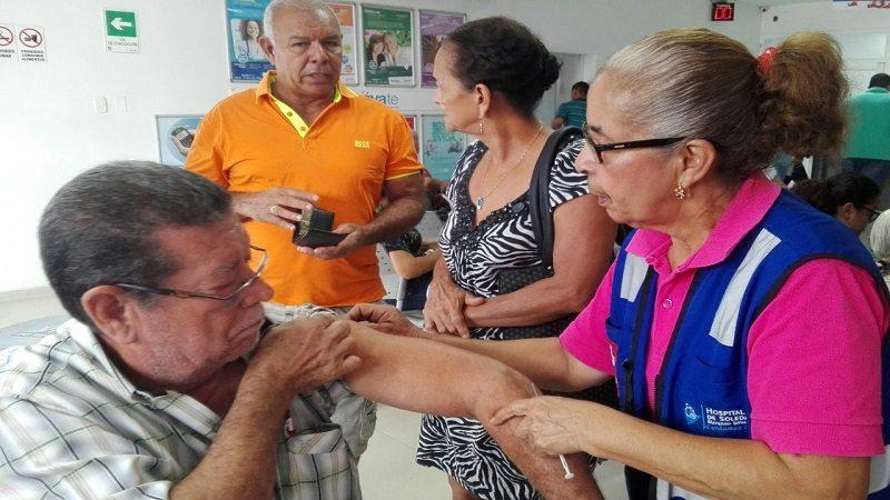 Con 1.403 dosis de influenza estacional arrancó campaña de vacunación masiva en Soledad