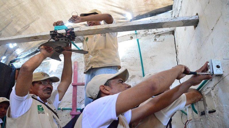 En el barrio El Pueblo, 'Toderos en Casa' demuestran sus habilidades