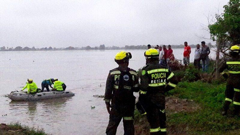 Intensifican búsqueda de menor de 17 años que desapareció en el río Magdalena, en Soledad