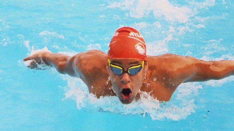 Nadador del Atlántico, entre los 6 mejores de Colombia