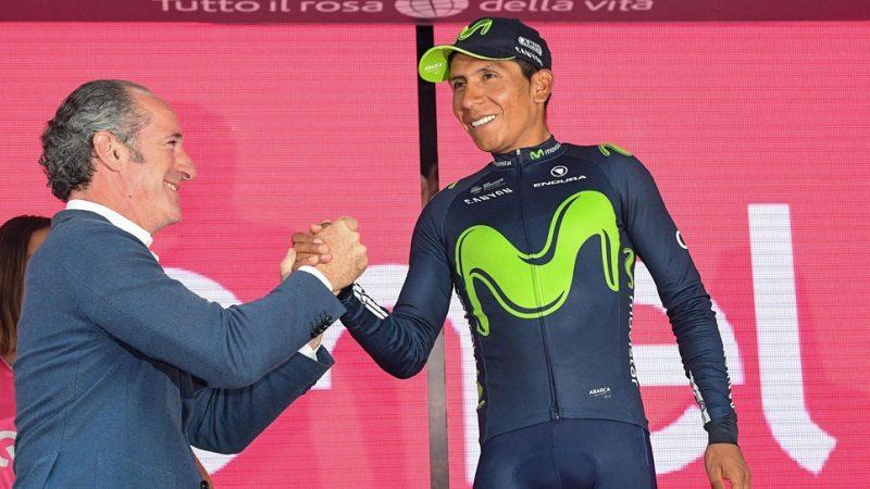 Nairo Quintana, subcampeón del Giro de Italia