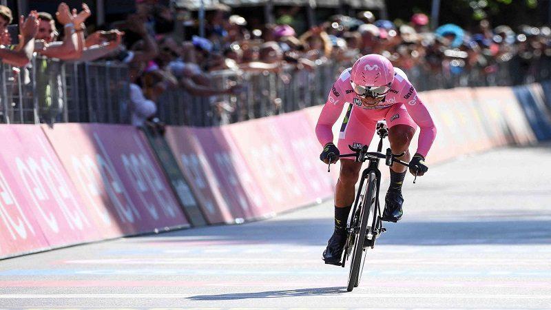 Nairo sigue como líder del Giro, Pinot ganó la etapa 20