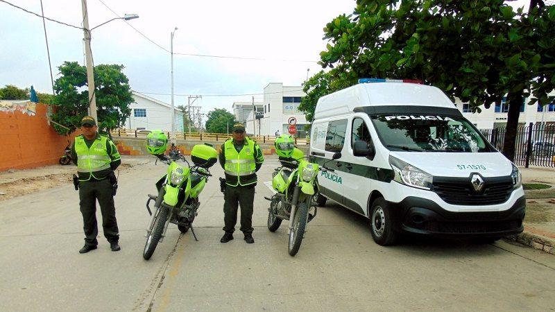 Policía Transmetro 4