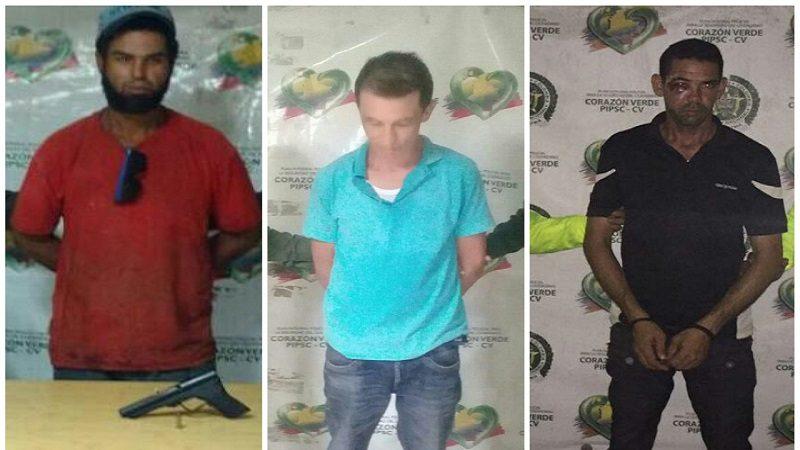 Policía capturó a tres personas por homicidio, porte de armas y hurto, en Barranquilla