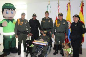 Policía le cumple el sueño a niño de 12 años con situación de discapacidad 2