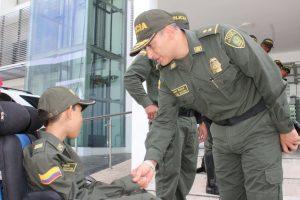 Policía le cumple el sueño a niño de 12 años con situación de discapacidad 4