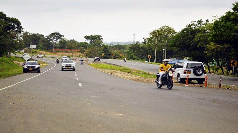Reanudan obras de segunda calzada de La Cordialidad en Galapa