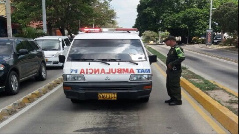 ambulancia sancionada
