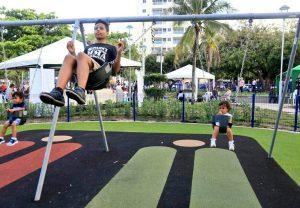 Así quedó el parque La Electrificadora de Barranquilla 4