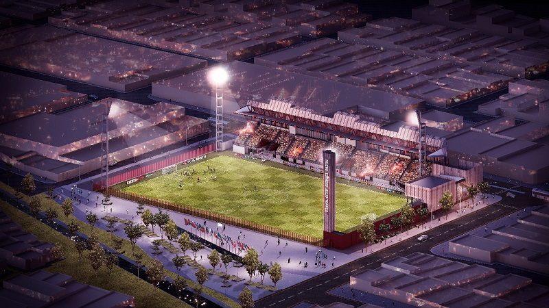 Así quedará el estadio Moderno de Barranquilla