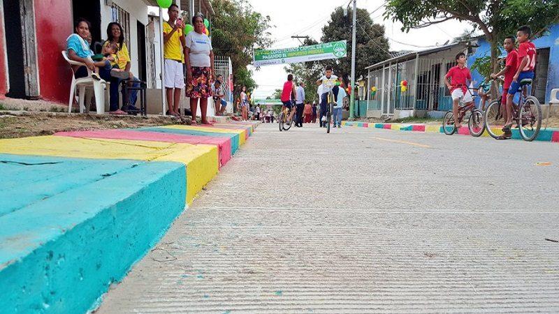 Barrios La Paz y Los Olivos tienen 62 nuevas calles pavimentadas