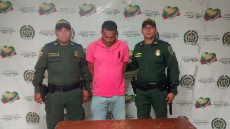 Capturan a hombre que hirió a su mujer con un destornillador en el barrio La Chinita