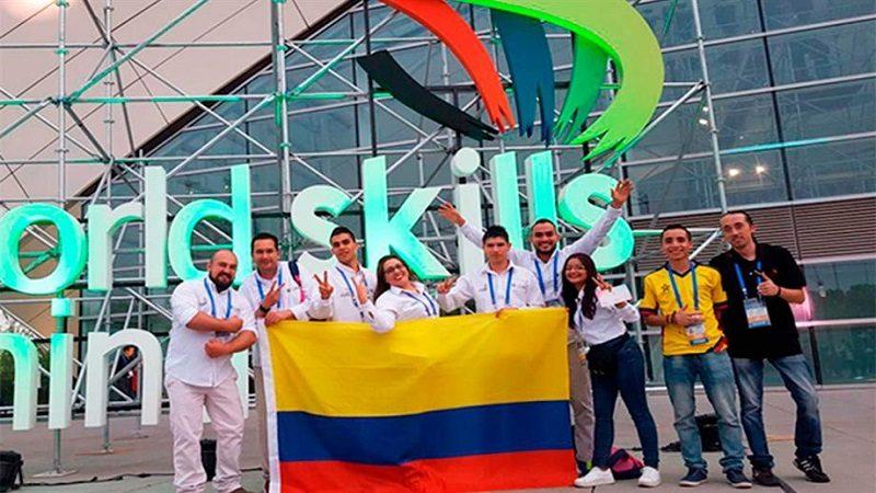 Delegación del Sena obtiene medallas de oro y plata en los WorldSkills en China