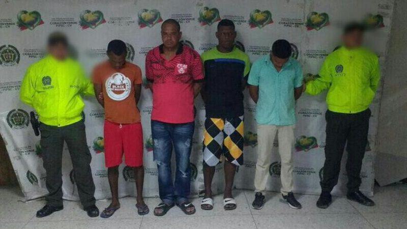 Desarticulan banda 'Los Pvc', dedicada al sicariato en Barranquilla