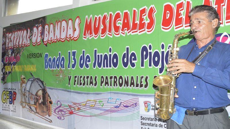 En Piojó suenan los porros y fandangos del XVII Festival de Bandas