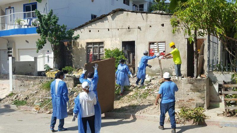 Encuentran una casa en el barrio Carrizal con 35 toneladas de basura