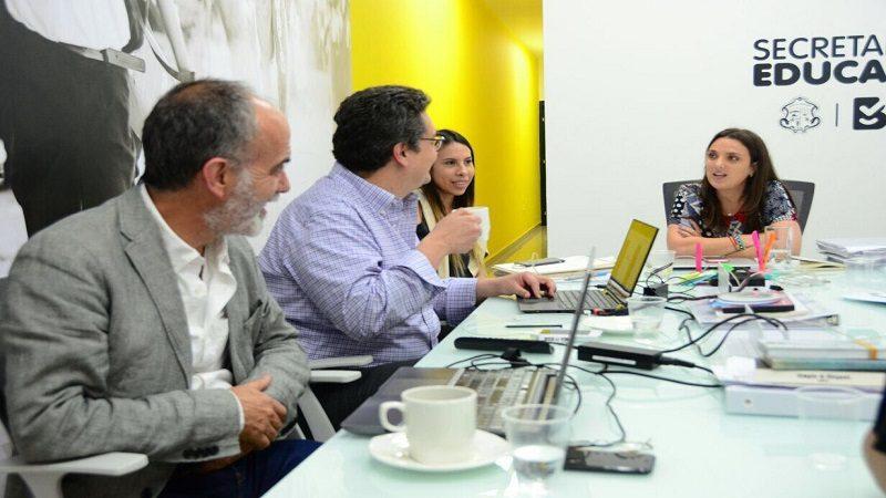 Gran alianza Distrito y BID para trabajar en equipo por la excelencia educativa
