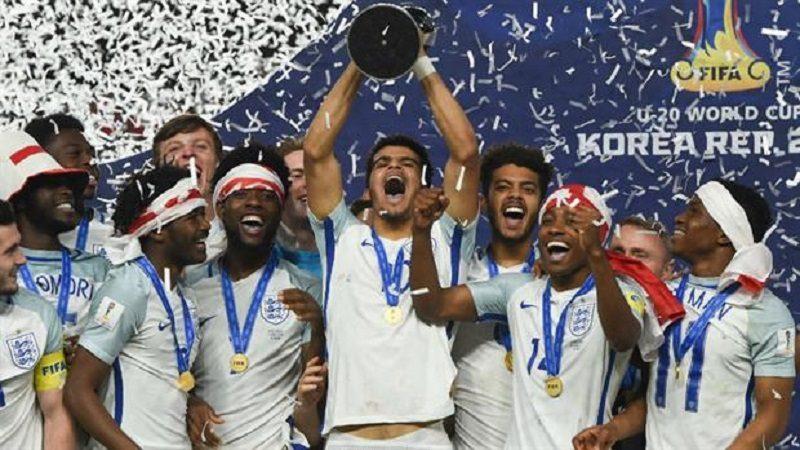 Inglaterra, campeón del Mundial de fútbol Sub-20, tras ganar 1-0 a Venezuela