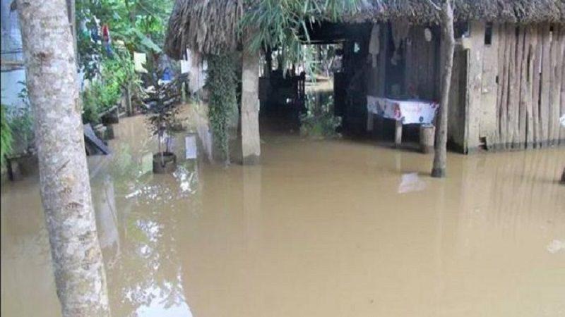 Más de 2.500 damnificados tras el desbordamiento de los ríos Sinú y San Jorge en Córdoba