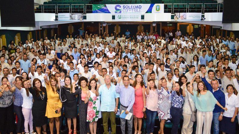 Más de 500 bachilleres soledeños serán técnicos profesionales