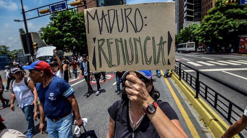 Oposición volvió a marchar contra Maduro en Venezuela