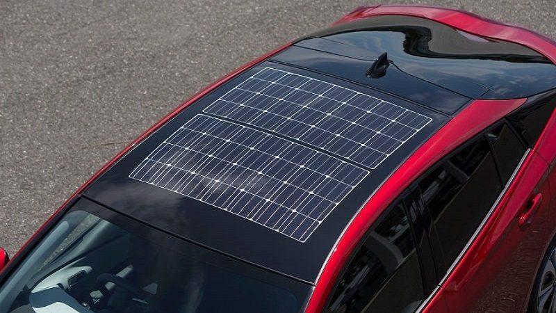 Panasonic busca poner paneles solares en los techos de los autos