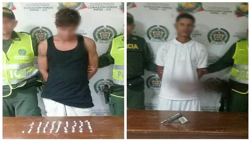 Policía capturó a dos atracadores en Barrio Abajo y Villanueva