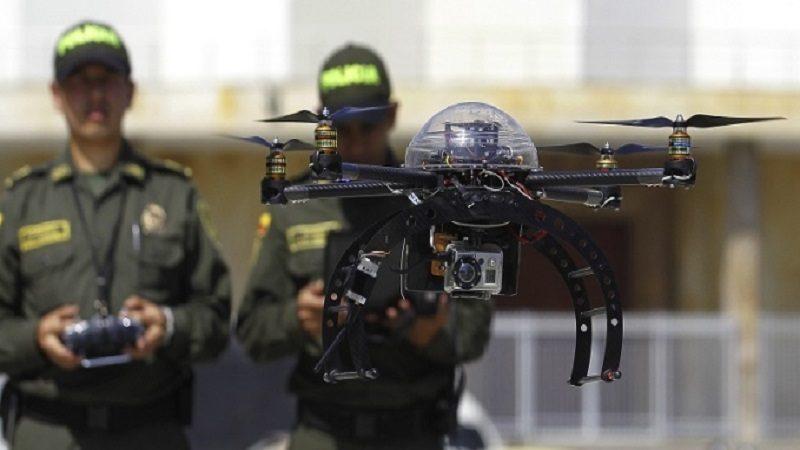 Policía pagó $1.190 millones por unos drones que no sirven
