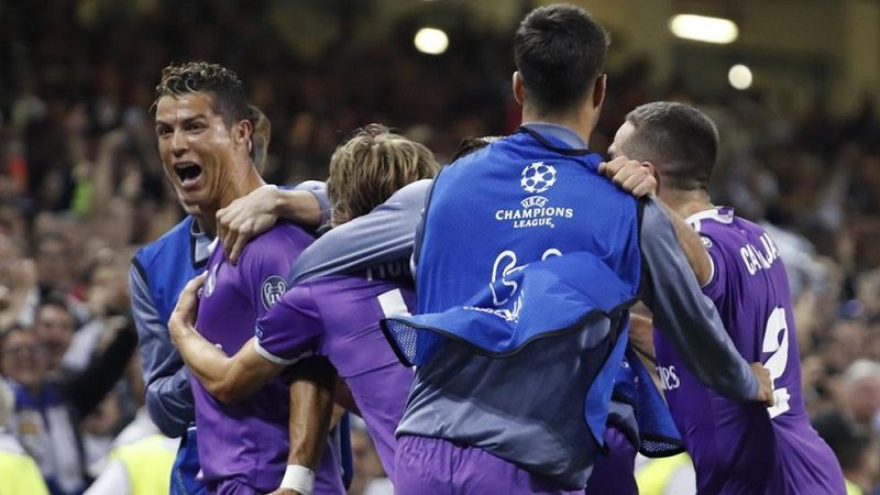 Real Madrid, campeón de la Champions 2017, al derrotar 4-1 al Juventus