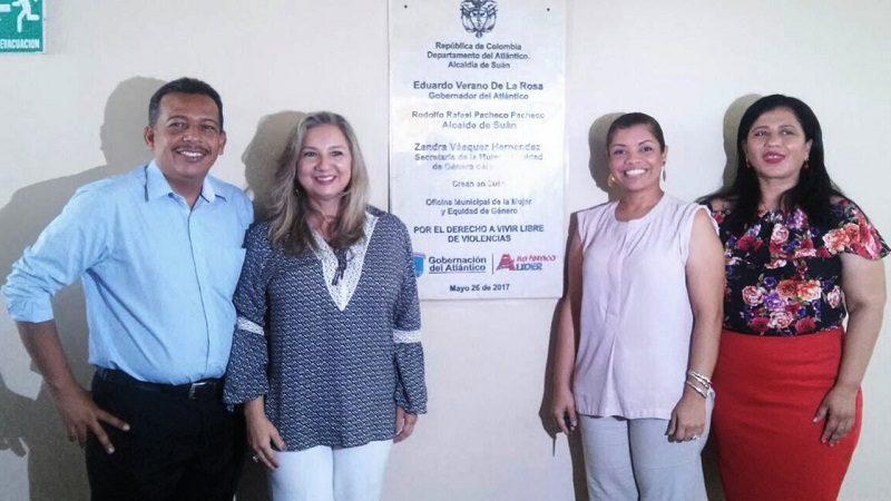 Suan, Atlántico, ya tiene Oficina de la Mujer