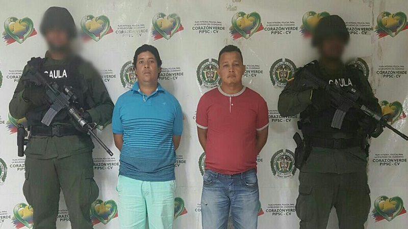 Capturan a dos hombres por extorsionar a cuatro extranjeros en Barranquilla